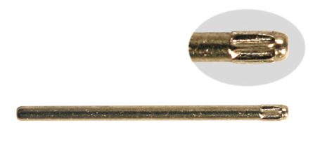 SORT. RÄFFLADE STÅLSTIFT 1,1 M 360 st, 10-22mm