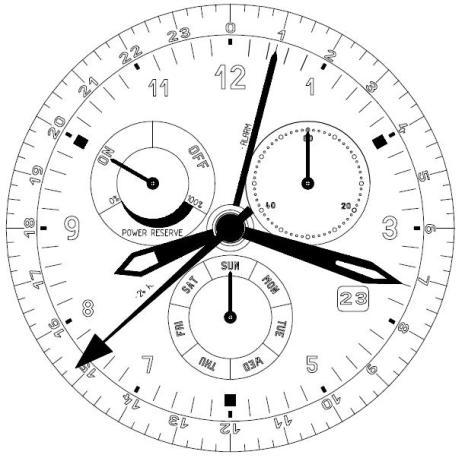 8173 ISA KRONOGRAF VERK