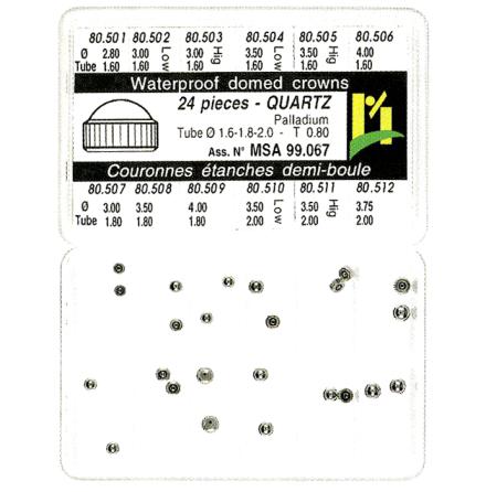 SORT. KRONOR Q-UR VITA 0,80 24 ST, tub 1,6-1,8-2,0