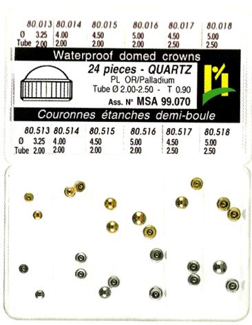 SORT. KRONOR Q-UR VIT/GUL 0,90 24 ST, tub 2,0-2,5