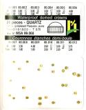 SORT. KRONOR Q-UR GULA 0,70 24 ST, tub 1,6-1,8-2,0