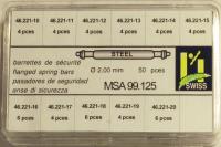 SORT. BANDSTIFT DIAM 2,0 MM 10mm-20mm 50st