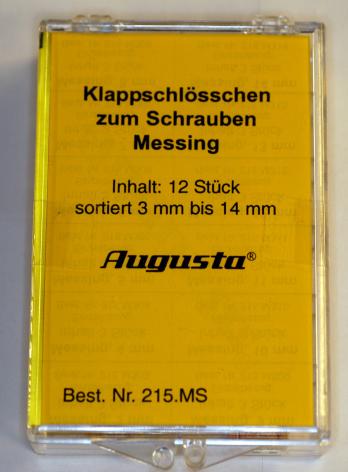 SORT. VIKLÅS, GULA 12 st i bredder 3-14 mm