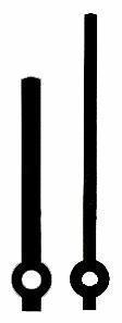 VISARE RAKA SVART PLAST 67/51MM