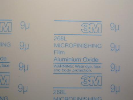 SLIPPAPPER 9 mic själv alumini Microslipfilm 268L