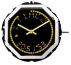 9001/7300P ISA VERK LCD positiv, grå/svart