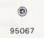 ROLEX STENHÅL I AUT. 3035/3135 Klinkhjul + mellanhjul