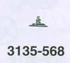 ROLEX ROTORAXEL 3135