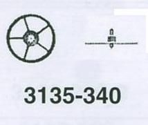 ROLEX MELLANHJUL 3135