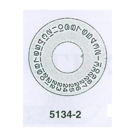 ROLEX DATUMSKIVA SILVER 3055