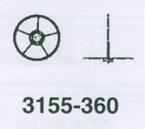 ROLEX SEKUNDHJUL 3155