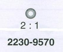 ROLEX STENHÅL ROTOR ÖVRE 2230