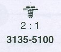 ROLEX VERKHÅLLARSKRUV 3135