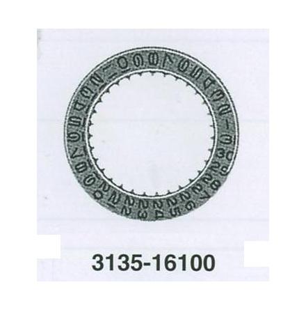 ROLEX DATUMSKIVA CHAMPAGN 3135