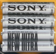 BATTERI SONY R03, AAA, SHRINK