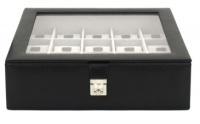 BOX FÖR 15 UR, SV SYNT GLASFRO 30X27X11 cm Redford