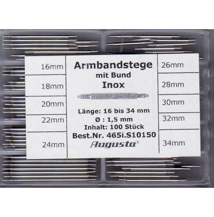 SORT. BANDSTIFT 1,5 16-34mm 100ST