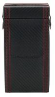 BOX FÖR 1 UR, SV SYNTET Carbon 10x6x18,5 cm Carbon