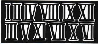 SIFFERSATS,ROM SVARTI-XII,10mm