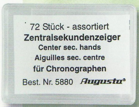 SORT. VISARE KRONOGRAF C.SEK 72 st blandade.