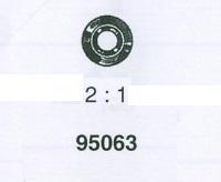 ROLEX STENHÅL ROTOR ÖVRE 3035