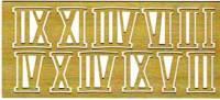 SIFFERSATS,ROM MÄSS I-XII,10mm