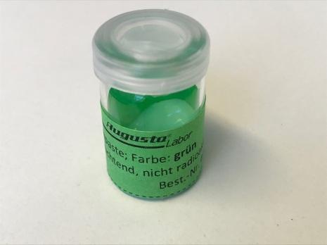 LYSMASSA, GRÖN färdig 2 gram, färdig att använda