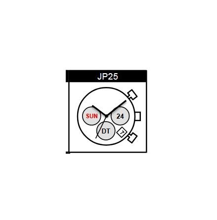 JP25, MIYOTA VERK