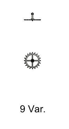 Gånghjul Sellita SW 200-1