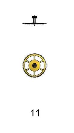 Mellanhjul Sellita SW 200-1