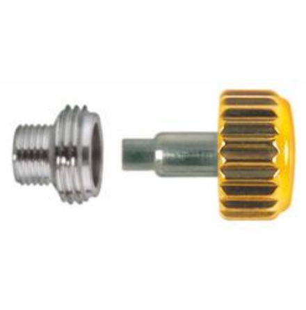 KRONA, ROLEXTYP GUL Ø 5,3 mm - 0,90 Inkl o-ring + tub M4x2,5