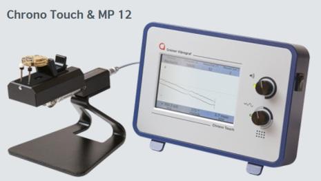 CHRONO TOUCH & MP12 Testapparat inkl mikrofon MP12