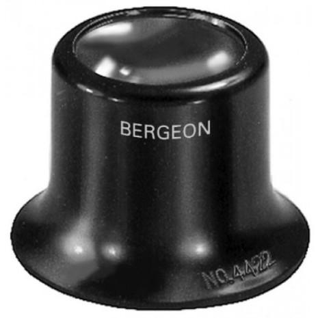 LUPP BERGEON svart plast