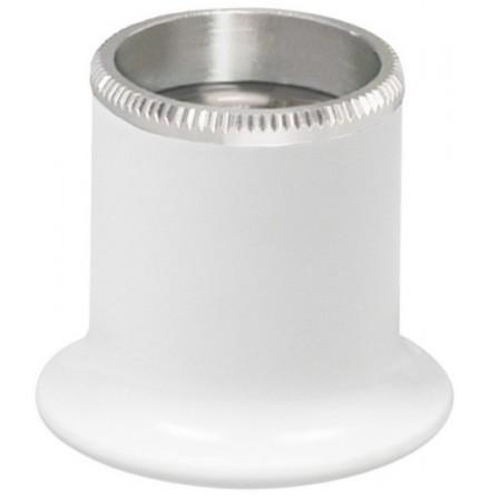 "LUPP, 3,0"" VIT BERGEON med aluminiumring"