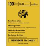 FODRINGAR I BRONS - 100-PACK BERGEON 4019